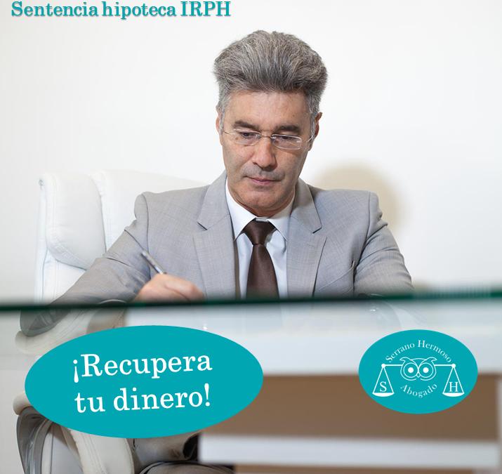 Sentencia de hipoteca IRPH - Serrano hermoso abogado